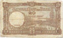20 Francs BELGIQUE  1944 P.111 B