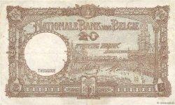 20 Francs BELGIQUE  1944 P.111 TB