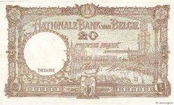 20 Francs BELGIQUE  1944 P.111 SUP