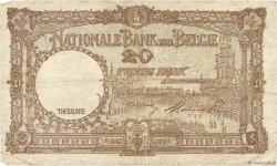 20 Francs BELGIQUE  1947 P.111 B