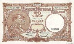 20 Francs BELGIQUE  1947 P.111 SUP