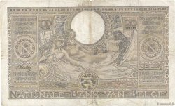 100 Francs - 20 Belgas BELGIQUE  1936 P.107 TB