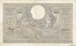 100 Francs - 20 Belgas BELGIQUE  1937 P.107 pr.TTB