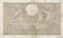 100 Francs - 20 Belgas BELGIQUE  1938 P.107 TB+