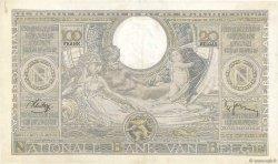 100 Francs - 20 Belgas BELGIQUE  1938 P.107 TTB