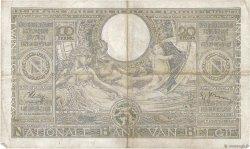 100 Francs - 20 Belgas BELGIQUE  1939 P.107 TB