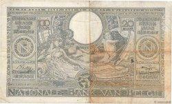 100 Francs - 20 Belgas BELGIQUE  1941 P.107 TB