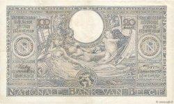 100 Francs - 20 Belgas BELGIQUE  1942 P.107 TTB