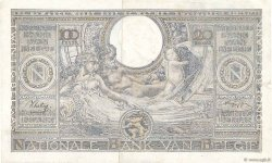 100 Francs - 20 Belgas BELGIQUE  1943 P.107 TTB