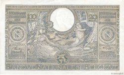 100 Francs - 20 Belgas BELGIQUE  1943 P.112 TTB+