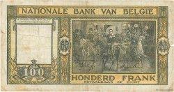 100 Francs BELGIQUE  1945 P.126 B