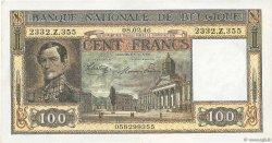 100 Francs BELGIQUE  1945 P.126 SUP
