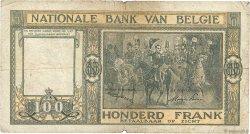 100 Francs BELGIQUE  1947 P.126 B