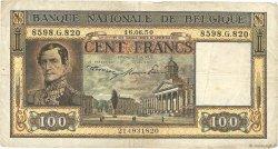 100 Francs BELGIQUE  1947 P.126 TB