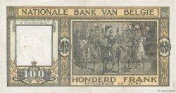 100 Francs BELGIQUE  1947 P.126 TTB