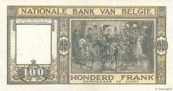 100 Francs BELGIQUE  1947 P.126 SPL