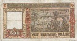500 Francs BELGIQUE  1944 P.127a TB