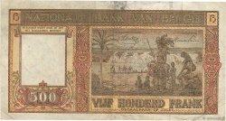 500 Francs BELGIQUE  1944 P.127a TTB