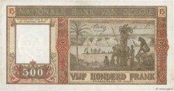 500 Francs BELGIQUE  1944 P.127a TTB+