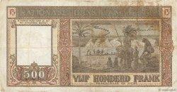500 Francs BELGIQUE  1947 P.127b TB