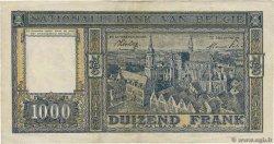 1000 Francs BELGIQUE  1944 P.128b TTB