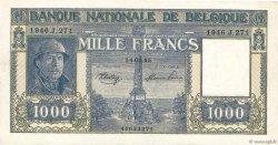 1000 Francs BELGIQUE  1944 P.128b TTB+