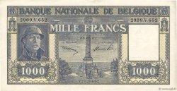 1000 Francs BELGIQUE  1947 P.128c TTB