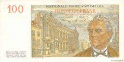 100 Francs BELGIQUE  1952 P.129a TTB+