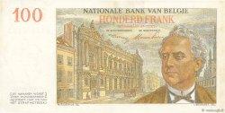 100 Francs BELGIQUE  1952 P.129a SUP