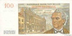 100 Francs BELGIQUE  1953 P.129b SPL