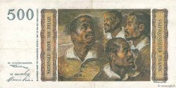 500 Francs BELGIQUE  1952 P.130 TTB