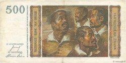 500 Francs BELGIQUE  1953 P.130 TB