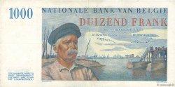 1000 Francs BELGIQUE  1950 P.131 TTB