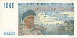 1000 Francs BELGIQUE  1950 P.131 SUP