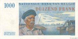 1000 Francs BELGIQUE  1951 P.131 SPL