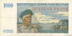 1000 Francs BELGIQUE  1953 P.131 TTB