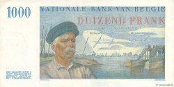 1000 Francs BELGIQUE  1956 P.131 SUP