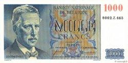 1000 Francs BELGIQUE  1958 P.131 NEUF