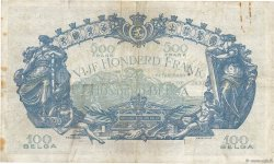 500 Francs - 100 Belgas BELGIQUE  1928 P.103a TB+