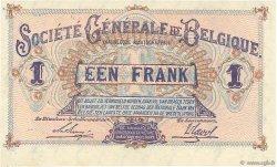 1 Franc BELGIQUE  1915 P.086a pr.NEUF