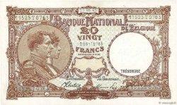 20 Francs BELGIQUE  1945 P.111 pr.NEUF