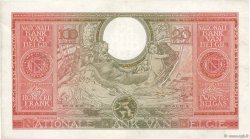 100 Francs - 20 Belgas BELGIQUE  1943 P.123 TTB+
