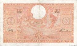 100 Francs - 20 Belgas BELGIQUE  1944 P.113 TTB