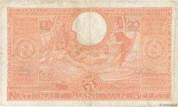 100 Francs - 20 Belgas BELGIQUE  1944 P.113 TB