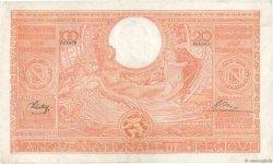 100 Francs - 20 Belgas BELGIQUE  1944 P.114 TTB+