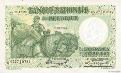 50 Francs - 10 Belgas BELGIQUE  1929 P.101 SUP