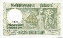 50 Francs - 10 Belgas BELGIQUE  1942 P.106 SUP