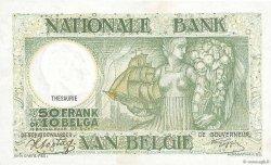 50 Francs - 10 Belgas BELGIQUE  1942 P.106 SPL