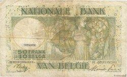 50 Francs - 10 Belgas BELGIQUE  1944 P.106 B