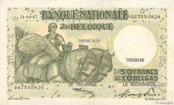 50 Francs - 10 Belgas BELGIQUE  1947 P.106 TTB